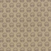 Moda Le Marais by French General - 4342 - Palmetto Floral, Brown on Beige - 13733 14 - Cotton Fabric