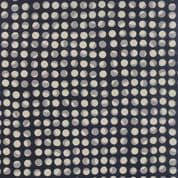 Moda Nocturne by Janet Clare - 4373 - Planets Moons on Dark Indigo - 1382 15 - Cotton Fabric