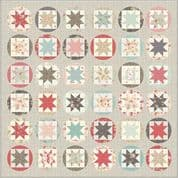 "Moda Poetry Quilt Top Kit - by 3 Sisters - Finished Size 76"" x 76"" - KIT44130"