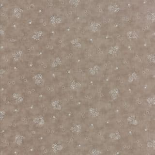 Moda - Portsmouth by Minick & Simpson - 6132 - Garden Flowers on Taupe - 14862 12 - Cotton Fabric