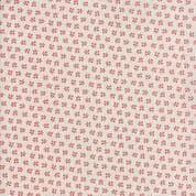Moda - Portsmouth by Minick & Simpson - 6140 - Red Ditsy Floral on White - 14866 11 - Cotton Fabric