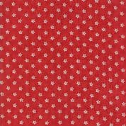 Moda - Portsmouth by Minick & Simpson - 6141 - Stars on Red - 14867 13 - Cotton Fabric