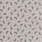 Moda Quill by 3 Sisters - 5622 - Feather Print on Pale Beige - 44158 21 - Cotton Fabric