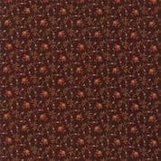 Moda - Spice It Up - 6612 - Floral Reproduction on Dark Brown - 38055 18 - Cotton Fabric