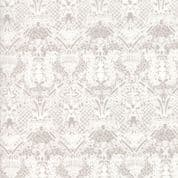 Moda - Stiletto by Basic Grey - 6995 - Eloise Lace Floral,Cream on Taupe - 30614 24 - Cotton Fabric