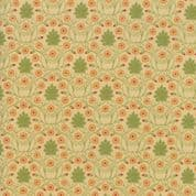 Moda - Voysey by The V&A - 6673 - Reproduction Floral, Daisies on Beige  - 7323 11 - Cotton Fabric