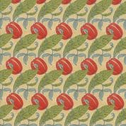 Moda - Voysey by The V&A - 6675 - Reproduction Floral The Gordon on  Beige - 7324 11 - Cotton Fabric