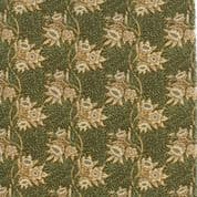 Moda William Morris by The V&A - 5654 - Tulip Willow Floral, Green & Gold - 7302 13 - Cotton Fabric