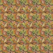 Moda William Morris by The V&A - 5664 - Acanthus Floral on Black - 7304 15 - Cotton Fabric