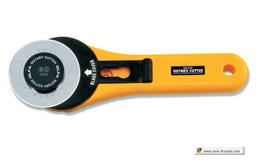 OLFA Retractable Rotary Cutter - 60mm