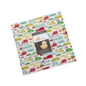 """On the Go - Layer Cake by Stacy Iest Hsu for Moda Fabrics UK - 42 x 10"""" Fabric Squares"""