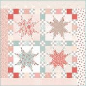 """Peace  - Moda Sanctuary Quilt Top Kit - by 3 Sisters - Finished Size 72"""" x 72"""" - KIT44250"""
