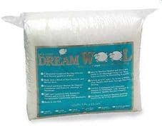 Quilters Dream Wool Wadding - 93  x 108in Pure Wool (Queen Size)