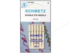 Schmetz Double Eye Needles Size 80/12