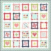 "Shine On - Moda Quilt Top Kit - by Bonnie and Camille - Finished Size 72"" x 72"" - KIT55210"