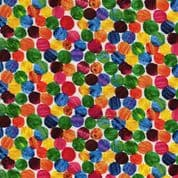 The Very Hungry Caterpillar - 7371 - Multicolour Spots 3474.M - Cotton Fabric
