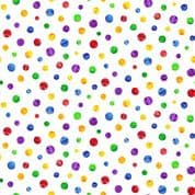 The Very Hungry Caterpillar - 7373 - Multicolour Marbles 7674.X - Cotton Fabric