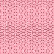 """W108410 - Pink Connected Stars - 108"""" Extra Wide Backing Cotton Fabric"""