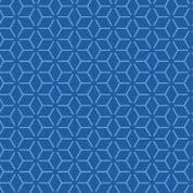 """W108614 - Blue Connected Stars  - 108"""" Extra Wide Backing Cotton Fabric"""