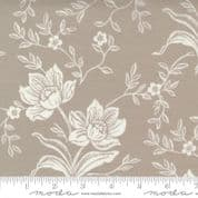 """W108837 - Moda Woodcut Floral - Fig Tree  - 108"""" Extra Wide Backing Cotton Fabric"""