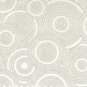 "W108927 -  Grey Tone on Tone Dotted Circles - 108"" Extra Wide Backing Cotton Fabric"
