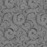 "W108929  -  Dove Grey Vine - 108"" Extra Wide Backing Cotton Fabric"