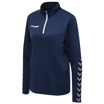 AUTHENTIC 1/2 ZIP SWEAT - Marine