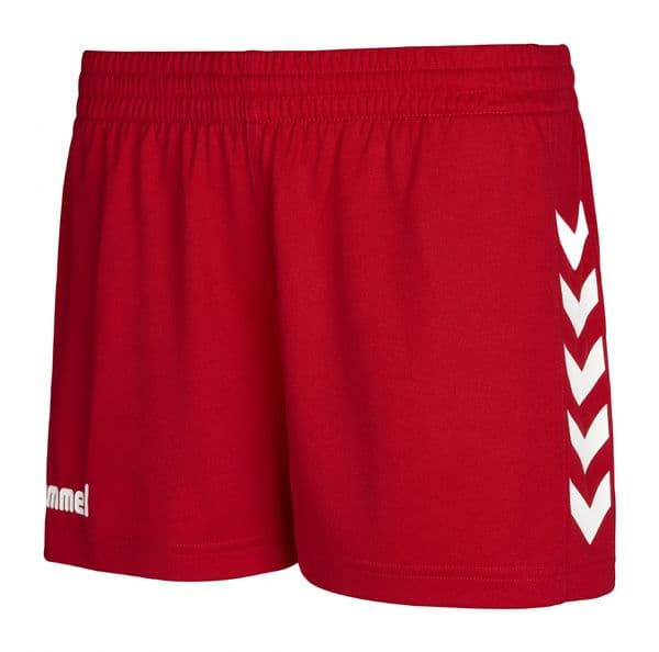 CORE WOMENS SHORTS - True Red