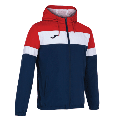 CREW IV RAIN JACKET - Dark Navy/Red/White