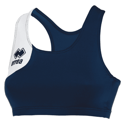DAFNE VEST TOP - Navy/White