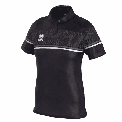 DARYA POLO - Black/Anthracite/White