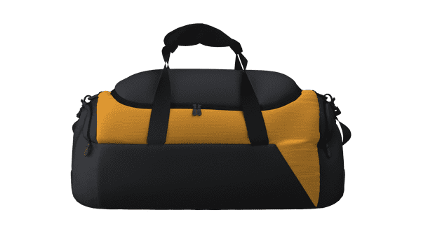 DNA MATCHDAY HOLDALL - Black/Amber