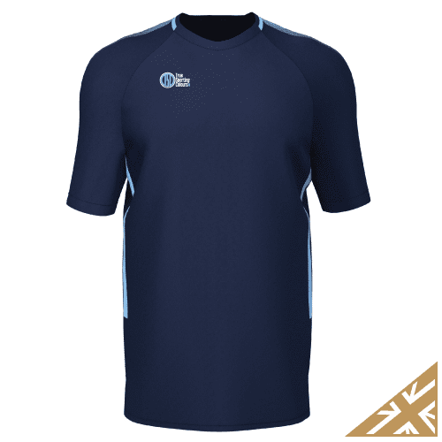 DNA PRO TRAINING TEE - Navy/Sky