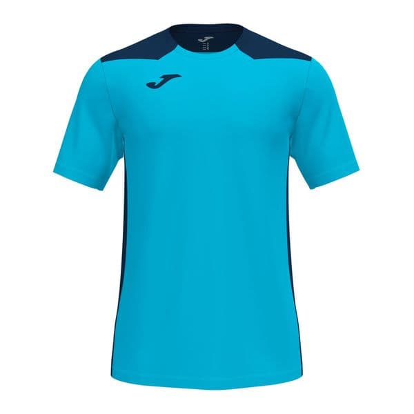 DUEL T20 SHIRT - Turquoise/Navy