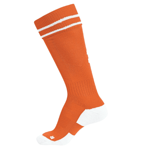ELEMENT SOCK - Tangerine/White