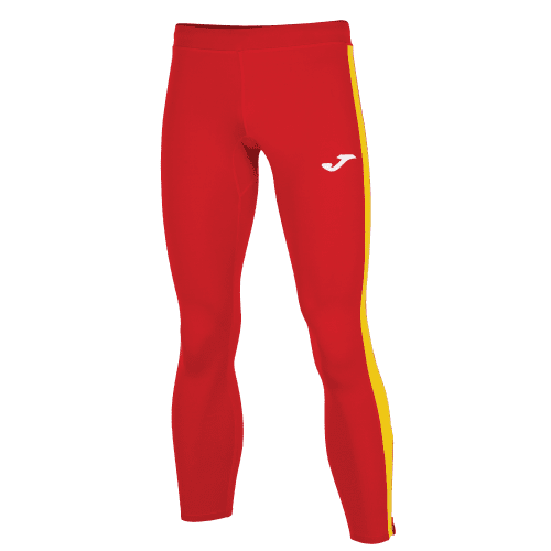 ELITE VII LINE LONG TIGHT - Red/Yellow