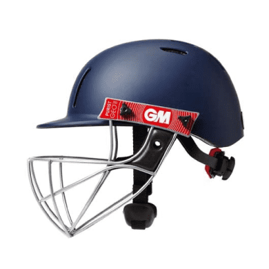 GM PURIST GEO II CRICKET HELMET (Jnr) - Blue