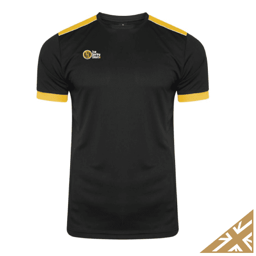 HELIX TRAINING SHIRT - Black/Amber