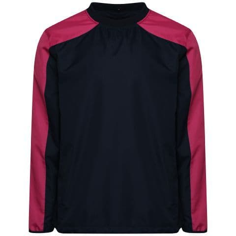 HELIX WINDBREAKER - Black/Maroon
