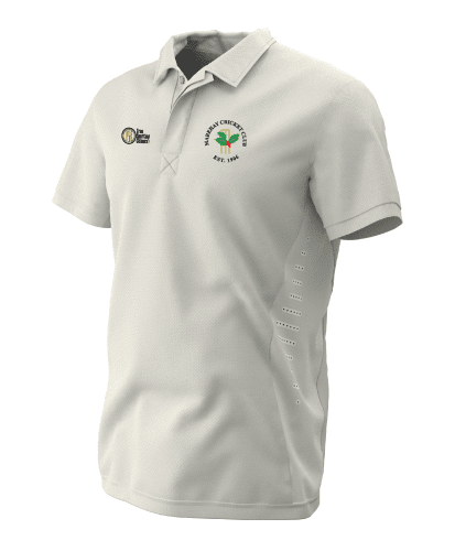Hybrid Whites S/S Playing Shirt - MCC