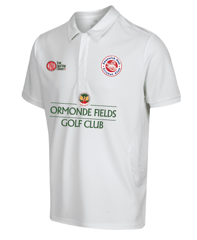 Hybrid Whites Short Sleeved Playing Shirt - SHCC