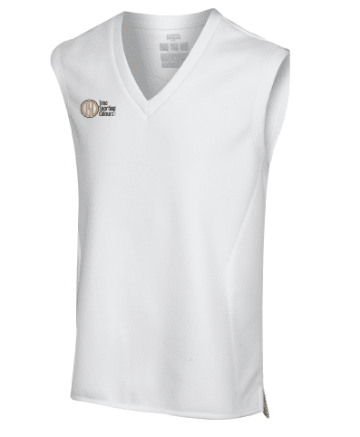 Hybrid Whites Sleeveless Slipover