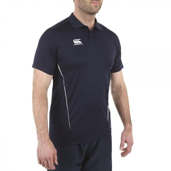 Navy Dry Polo - CCC