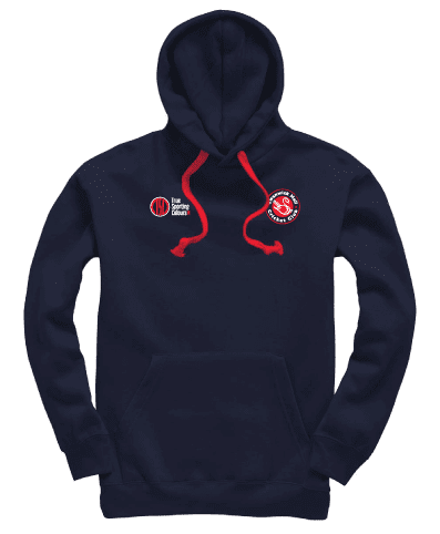 Premium Hoody (Navy/Red) - SHCC