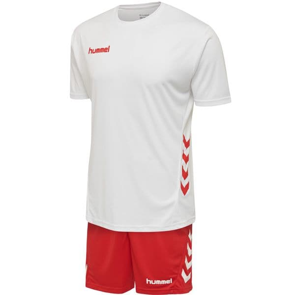 Pro-Motion Duo Set - White/True Red