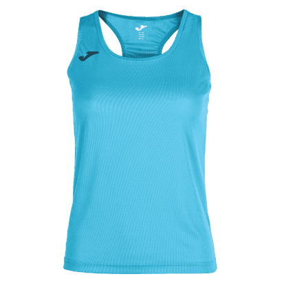 SIENA SLEEVELESS TRAINING SHIRT - Turquoise Fluor