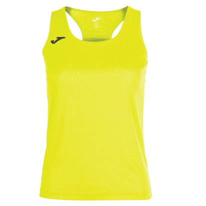 SIENA SLEEVELESS TRAINING SHIRT - Yellow Fluor