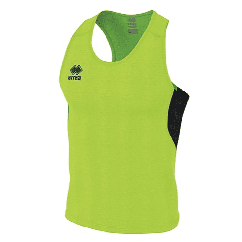 SMITH SINGLET - Green Fluo/Black