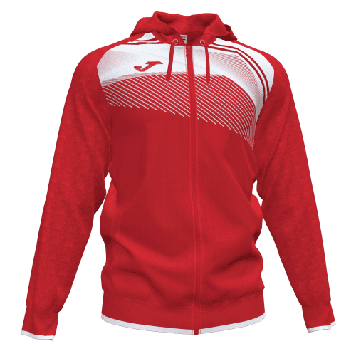 SUPERNOVA II HOODED  TOP - Red/White