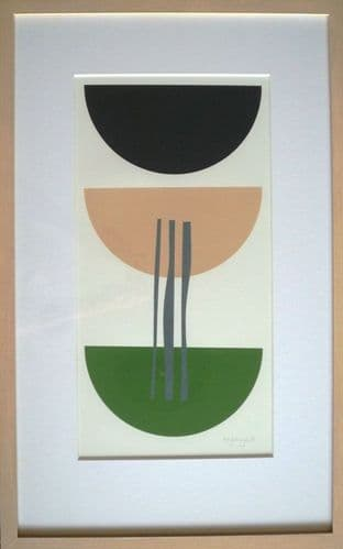 Amy Lanyon Abstract Monoprint